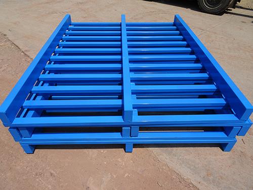 钢制卡板 金属垫仓板钢制叉车托盘 金属货架托盘 铁栈板厂家直销
