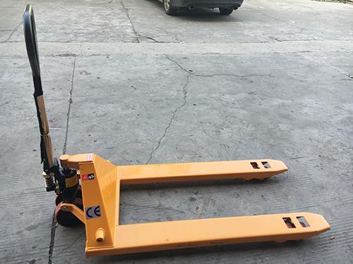 厂家批发高品质仓储设备手动叉车手动搬运车平板手推车